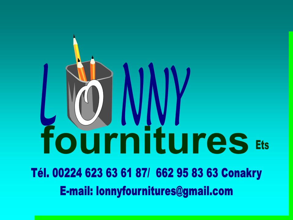 Lonny Fournitures. page 1